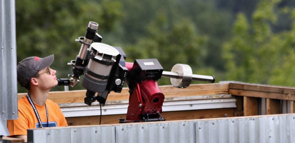 optical telescope at PARI