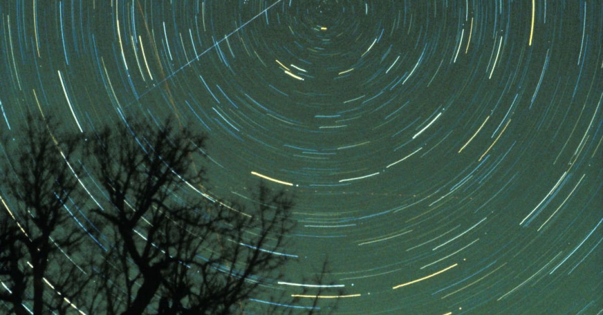 Meteor shower pic used for Eta Aquarids