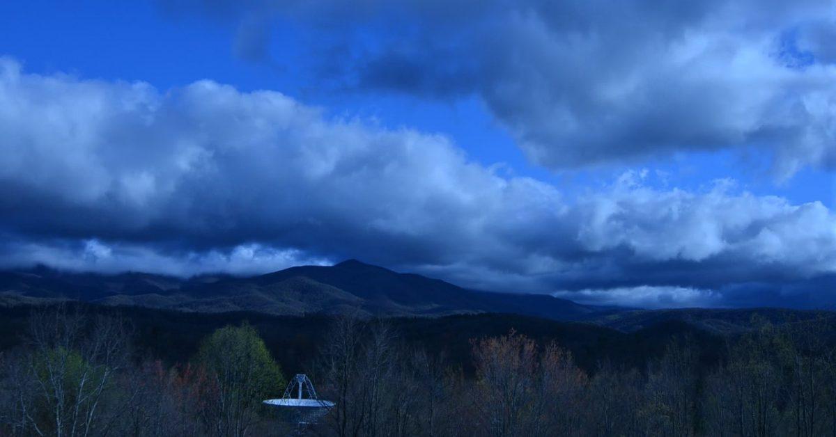 South Ridge 26E morning clouds